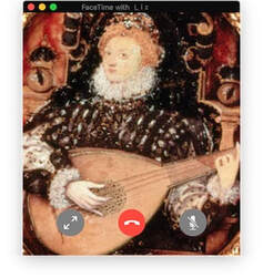 Queen Elizabeth Playing the Lute Hilliard Lute Lesson